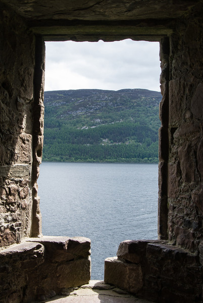 Loch Ness combined with canals, connect the east and west coasts of Scotland.