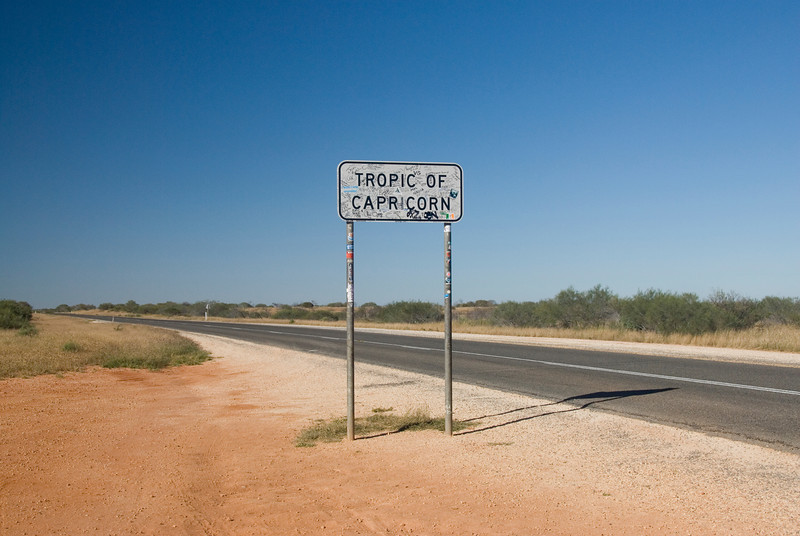 Tropic of Capricorn Sign 2 - Western Australia