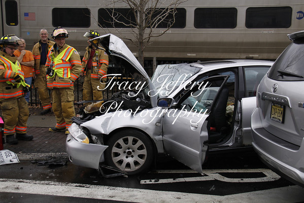 Montvale Fire Dept- Car hit by Train 12-22-13