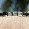 Art Deco Diamond & Onyx Bracelet 9
