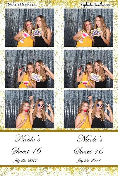 Nicole's Sweet 16