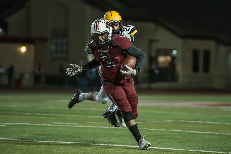 Taken during Varsity Football game between Fremont Firebirds and MVHS Spartans at Fremont High School, Sunnyvale, CA on September 22nd 2017