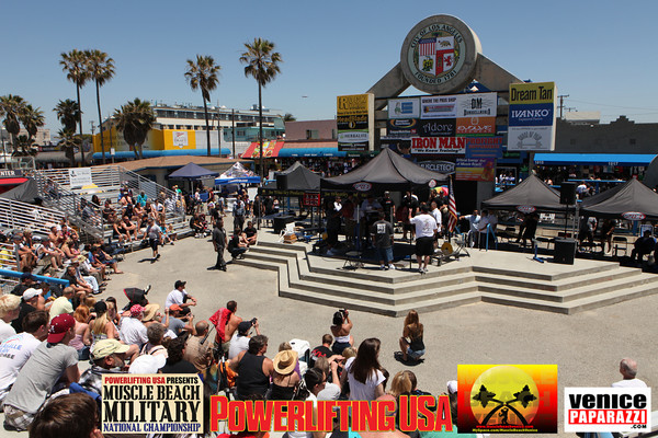 05.29.10  05.29.10 MUSCLE BEACH MILITARY NATIONAL CHAMPIONSHIPS - POWERLIFTING. VENICE, CA