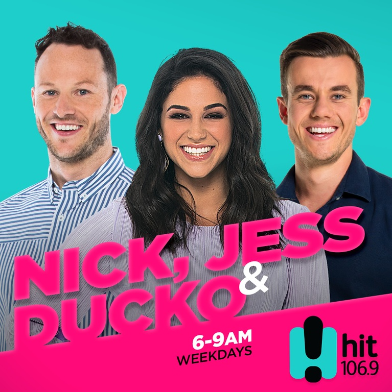 Nick, Jess, and Ducko (photo credit: Hit Network/SCA)