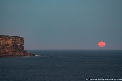 2020-10-02 Moonrise - Middle Head