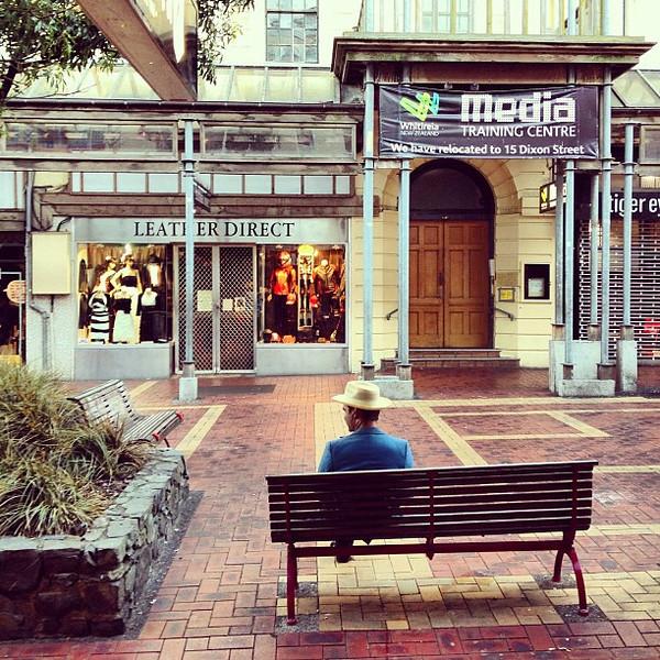 Snap on Cuba Street: A taste of the soul of Wellington, New Zealand.