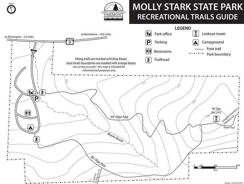 Molly Stark State Park (Trails)