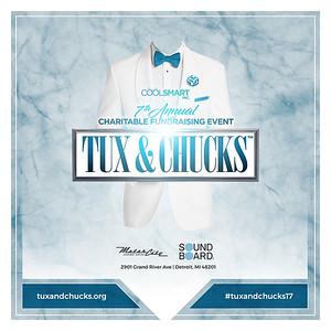 Tux & Chucks 7th Annual Charitable Event 11-24-2017