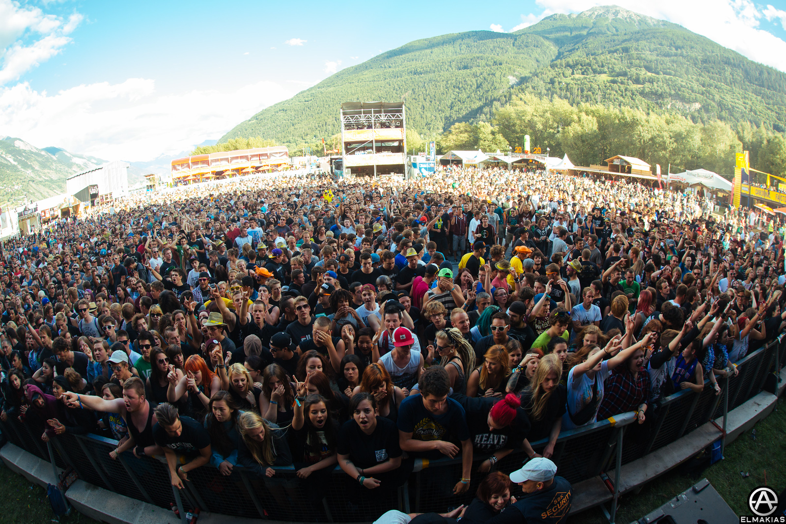 Open Air Gampel Festival in Switzerland