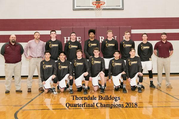 Thorndale v Snook Quarterfinals 2018