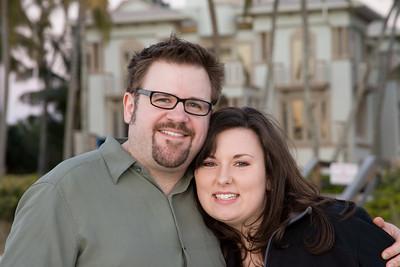 Brian and Sadie at Naples Pier