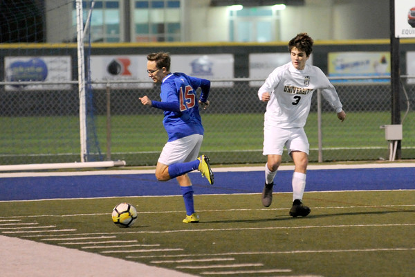 U-High vs Parkview Soccer 1/25/19