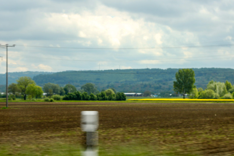 On the road from Herbolzheim to Heidelberg