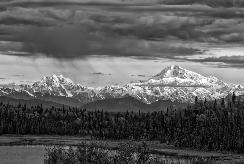 Denali in Black & White