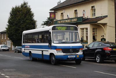 Brentwood's buses - Clintona Minicoaches