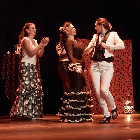 Alegria - les danseuses