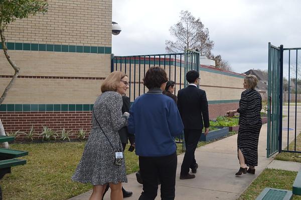 JAXA Visitors at Brookwood Elementary