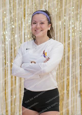 Volleyball Senior Night 2018-19