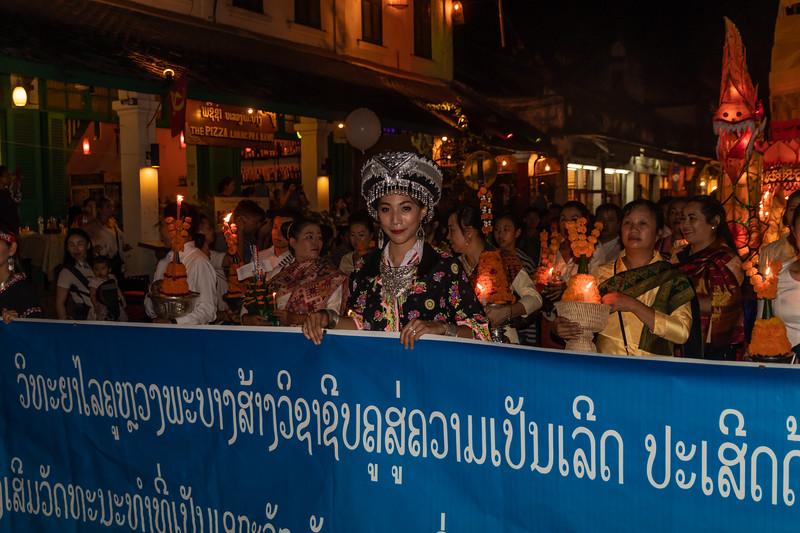 Beauty Queen In Laos