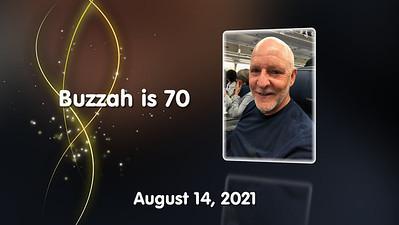 Buzzah is 70