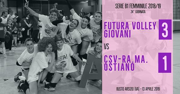 B1F - 24^ Futura Volley Giovani - CSV-RA.MA. Ostiano