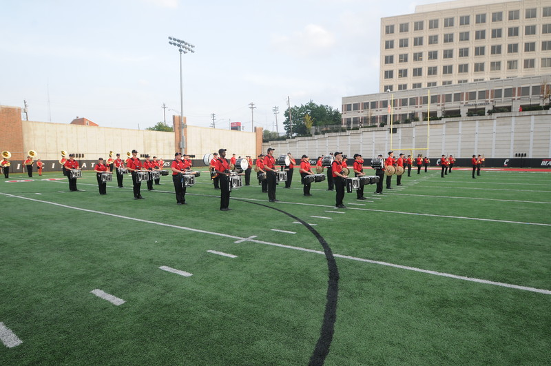 UC Band_Band Camp closing performance_UC Campus_08-21-2014