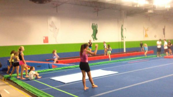 First Gymnastics experience