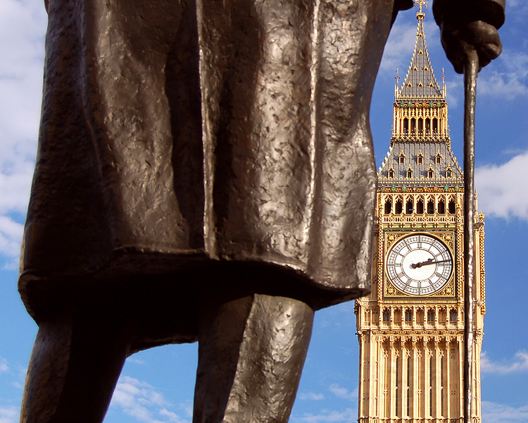 Mister Churchill and his Big Ben