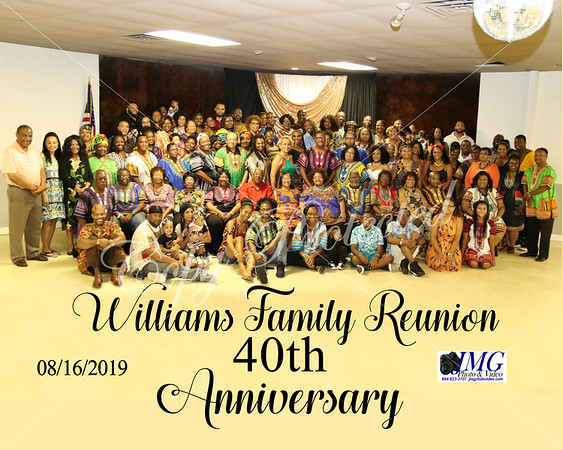 Williams Family Reunion
