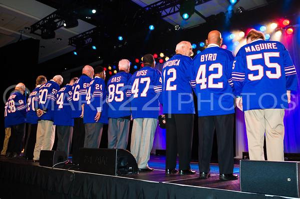 2015 Buffalo Bills Gala honoring the 64-65 Buffalo Bills