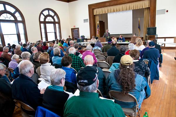 West Windsor Town Meeting, 2014