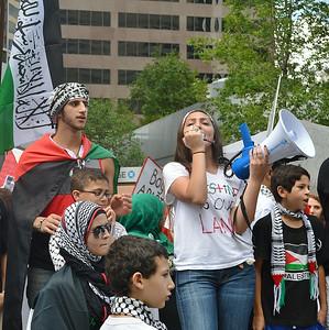 Palestinian Protest-Denver-7/12/14