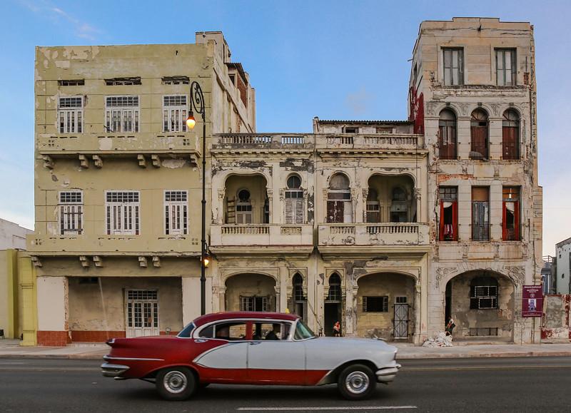 Classic Cars on the Havana Malecon 12