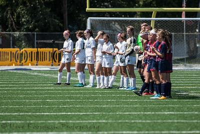 2017 PGS Girls Soccer vs Heritage Hills