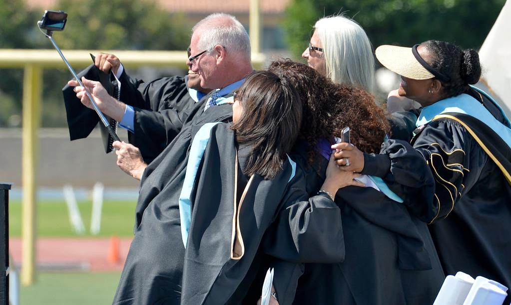 . Jordan High School graduation class of 2015 graduated 780 students the biggest  class in the last 25 years  at Veteran\'s Memorial Stadium in Long Beach, CA. Monday June 16, 2015. (Thomas R. Cordova-Daily Breeze/Press-Telegram)