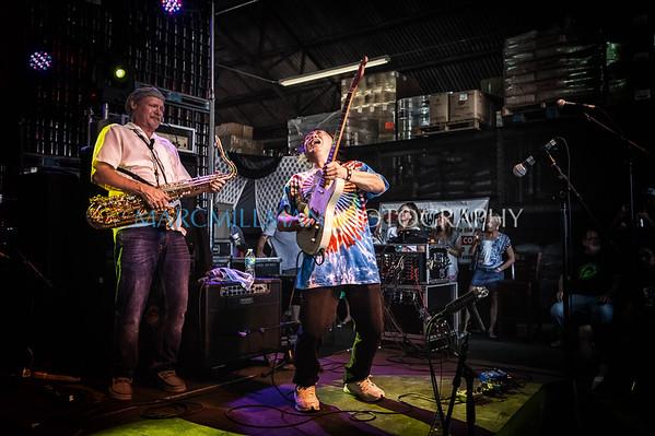 George Porter Trio feat. June Yamagishi @ NOLA Crawfish Fest (Tue 4/26/16)