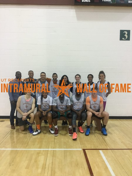 Spring 2018 Basketball Coed A Runner Up Late to the Game