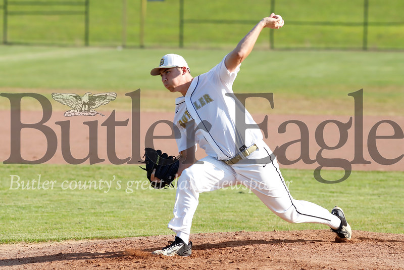 Butler starting pitcher Colby Anderson. Seb Foltz/Butler Eagle 07/23/19