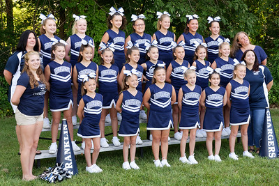 2015 Franklin Chargers Cheer C Squad