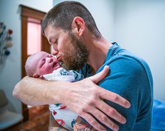 Ruby's birth, Wichita Falls, TX, 9/24/2019
