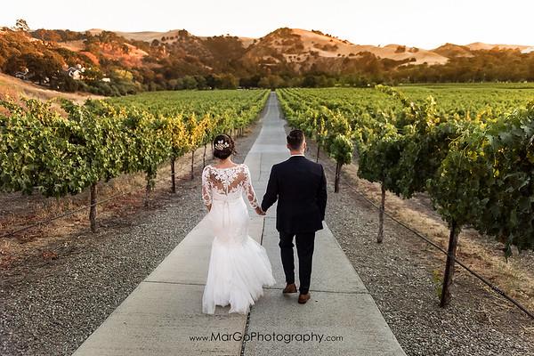 Livermore Wente Vineyards Wedding