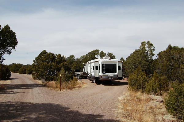 Datil Well BLM Campground