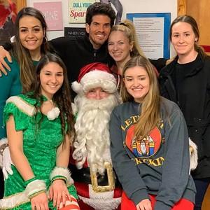 12/15/19- Santa @ VP Dance Academy