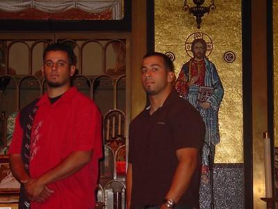 Ammar & Lorette's Wedding Rehearsal September 16, 2005