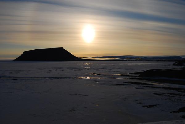 Greenland-Midnite Sun