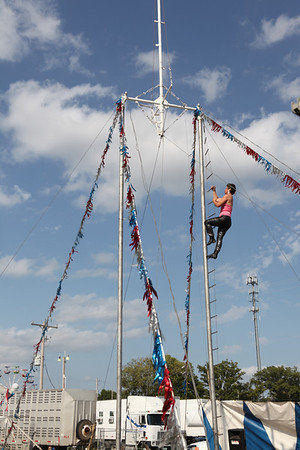 2012 Delta Fair - Flores Family Thrill Show
