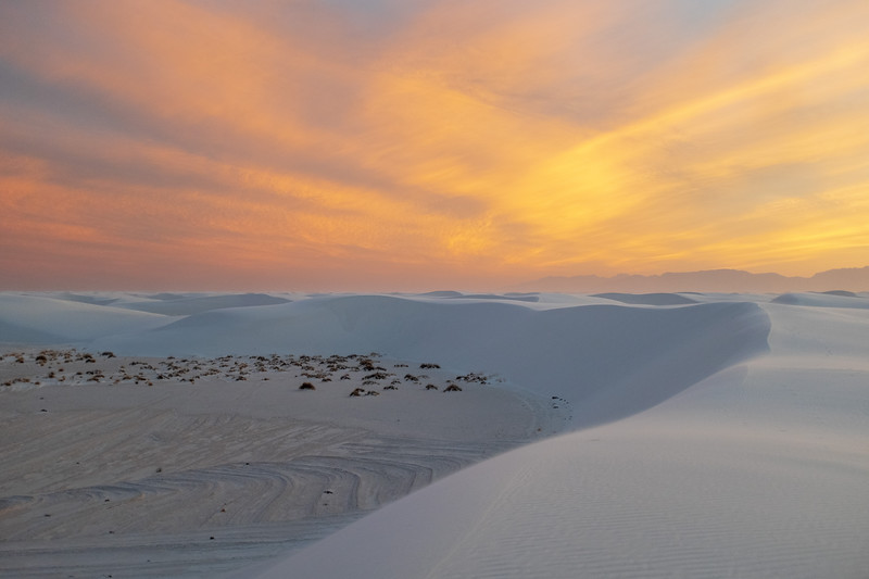 White Sands National Monument, 2019.