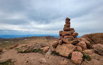 Westbound 2021-Pike's Peak- Hike to Summit