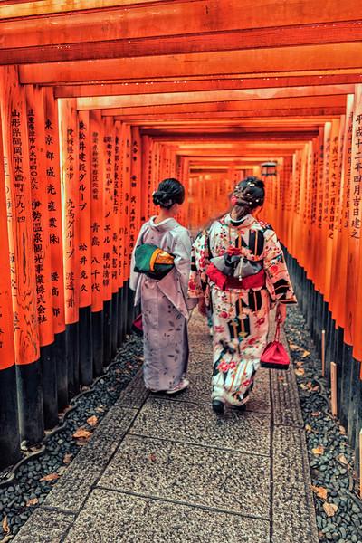 Fushimi, Kimona ladies