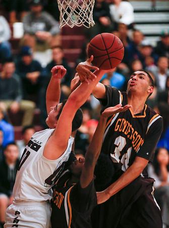 Gunderson at Piedmont Hills boys basketball game
